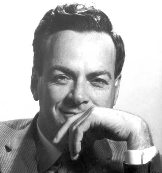 Dr. Richard Feynman c/o museumvictoria.com.au